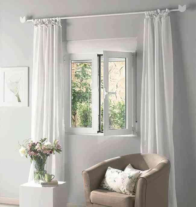 Descubre c mo alargar la vida a las cortinas de casa - Barras cortinas leroy merlin ...