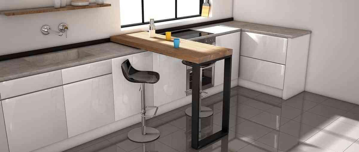 Barra Slide de Cancio, para crear cocinas dinámicas