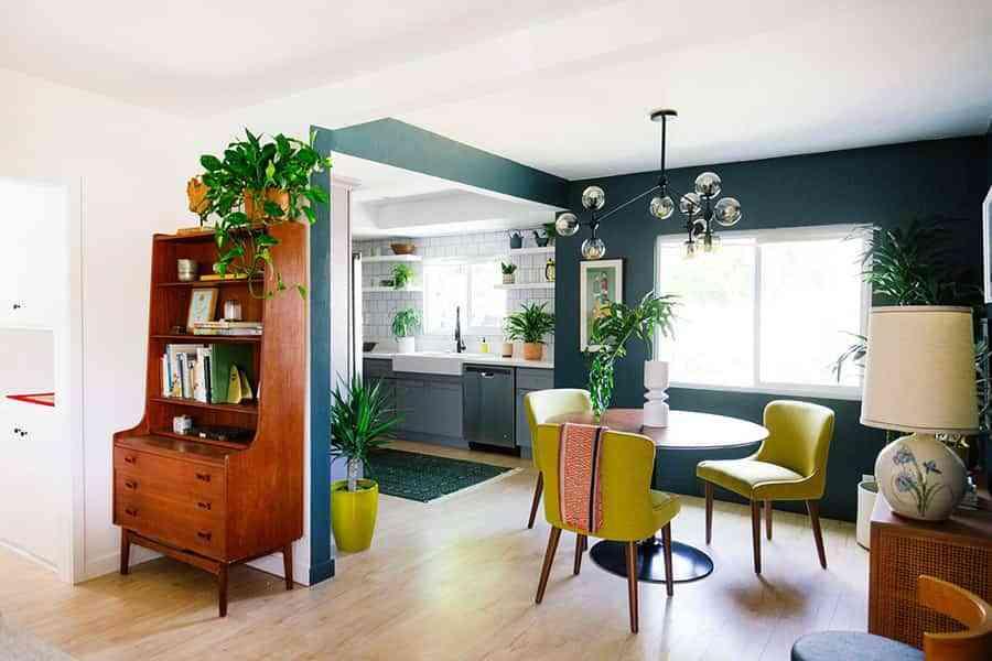 Cmo usar el color para decorar una casa de planta abierta