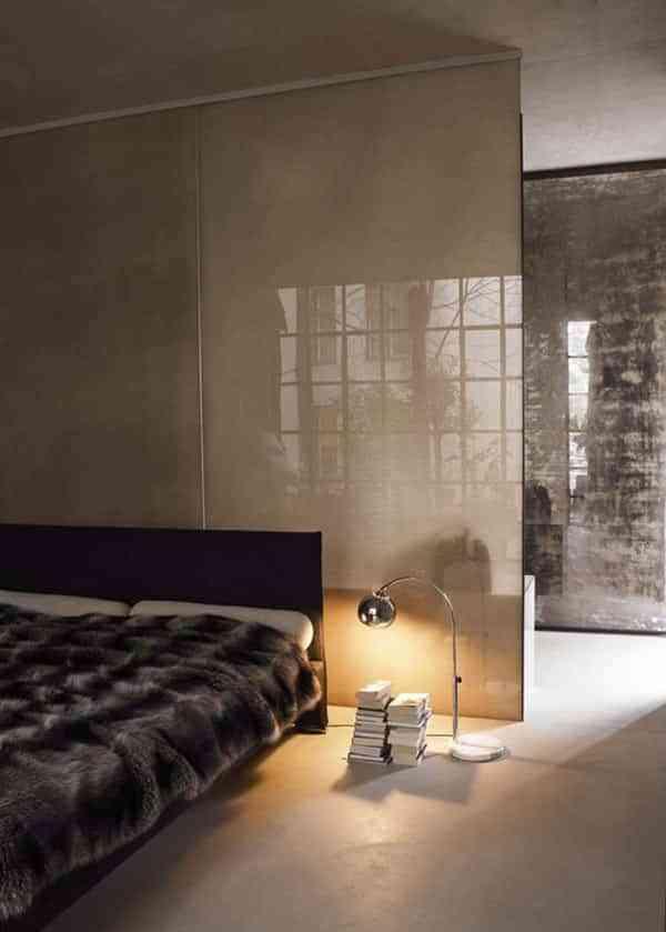 Paneles de cristal para separar ambientes una soluci n luminosa - Paneles para separar espacios ...