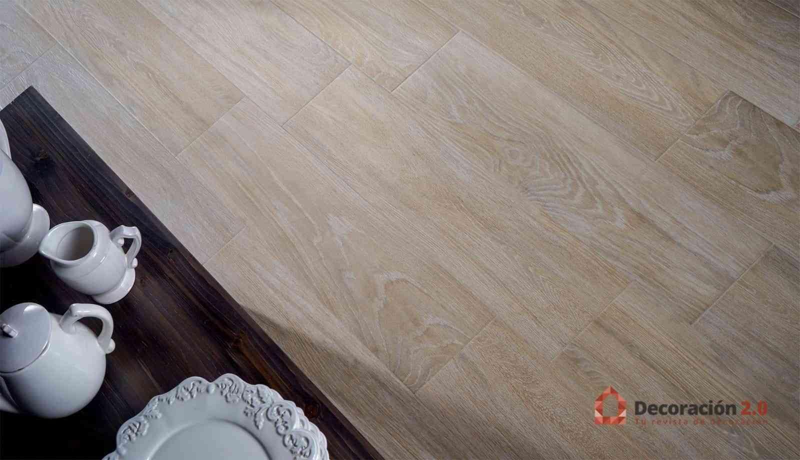 Porcelánicos con todo el estilo de la madera natural