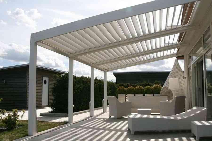 Por qu necesitas una p rgola bioclim tica para tu terraza for Piscinas desmontables rectangulares baratas