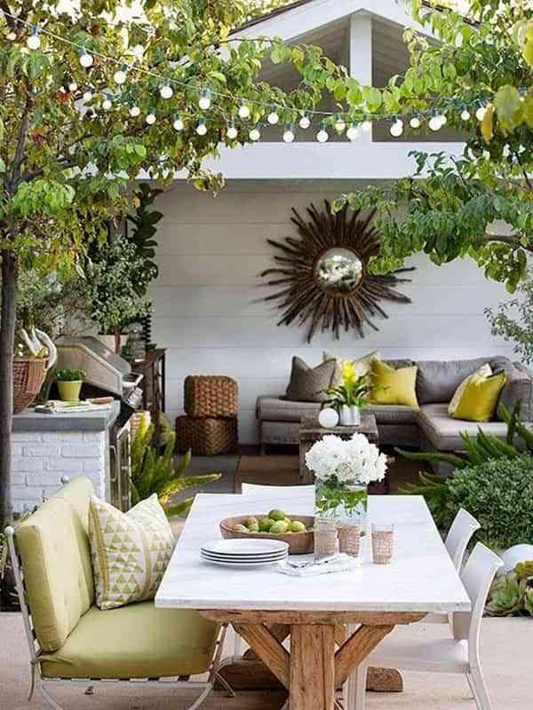 Cómo crear una zona para comer en la terraza y disfrutarla cada día