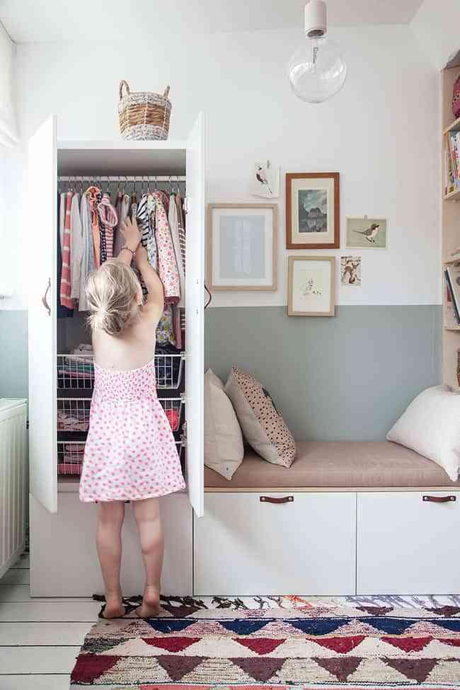 armario de los niños