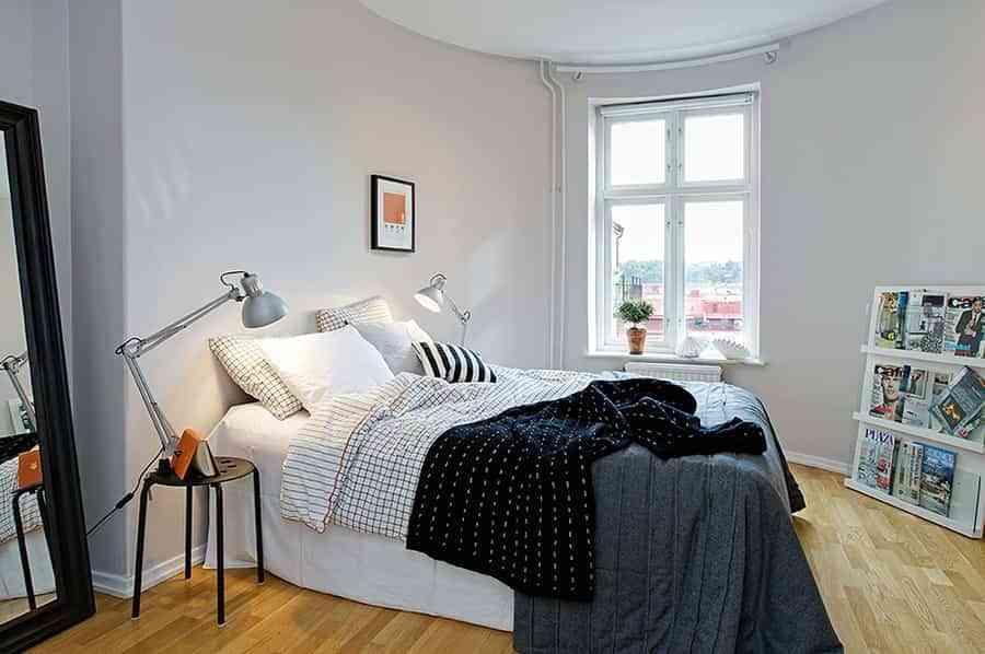 descansar de lujo en el dormitorio