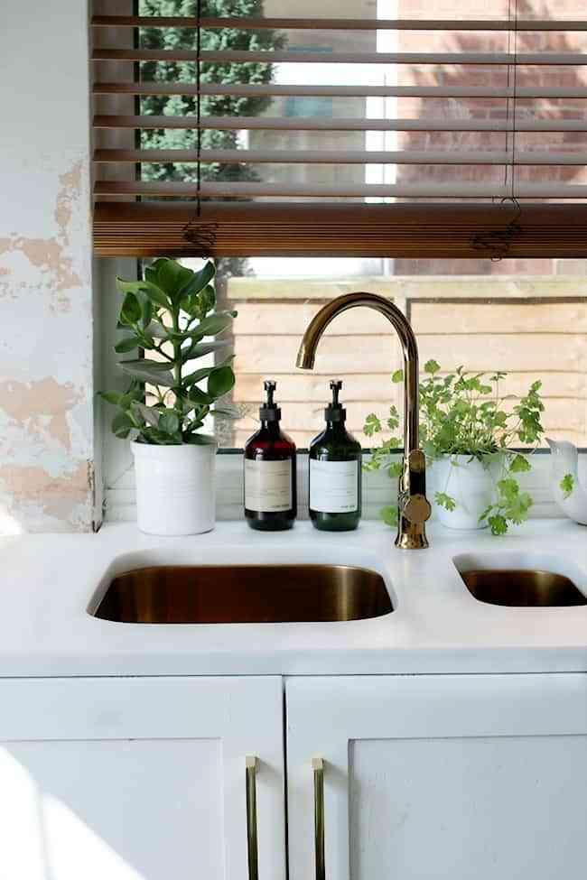 golden faucets
