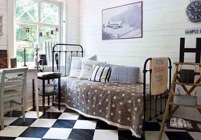 Cómo renovar el cuarto de los niños: ideas para pintar el suelo