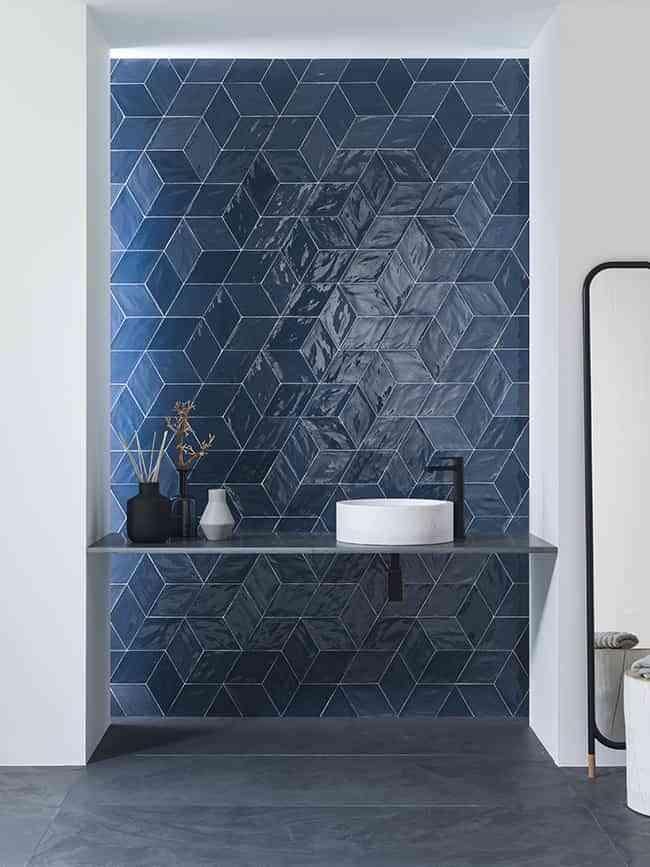 Nuevos formatos en cerámica: triunfa la geometría