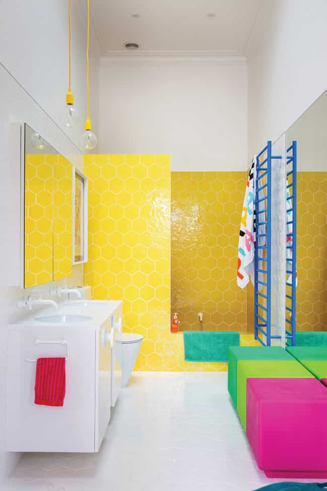 color in your bathroom