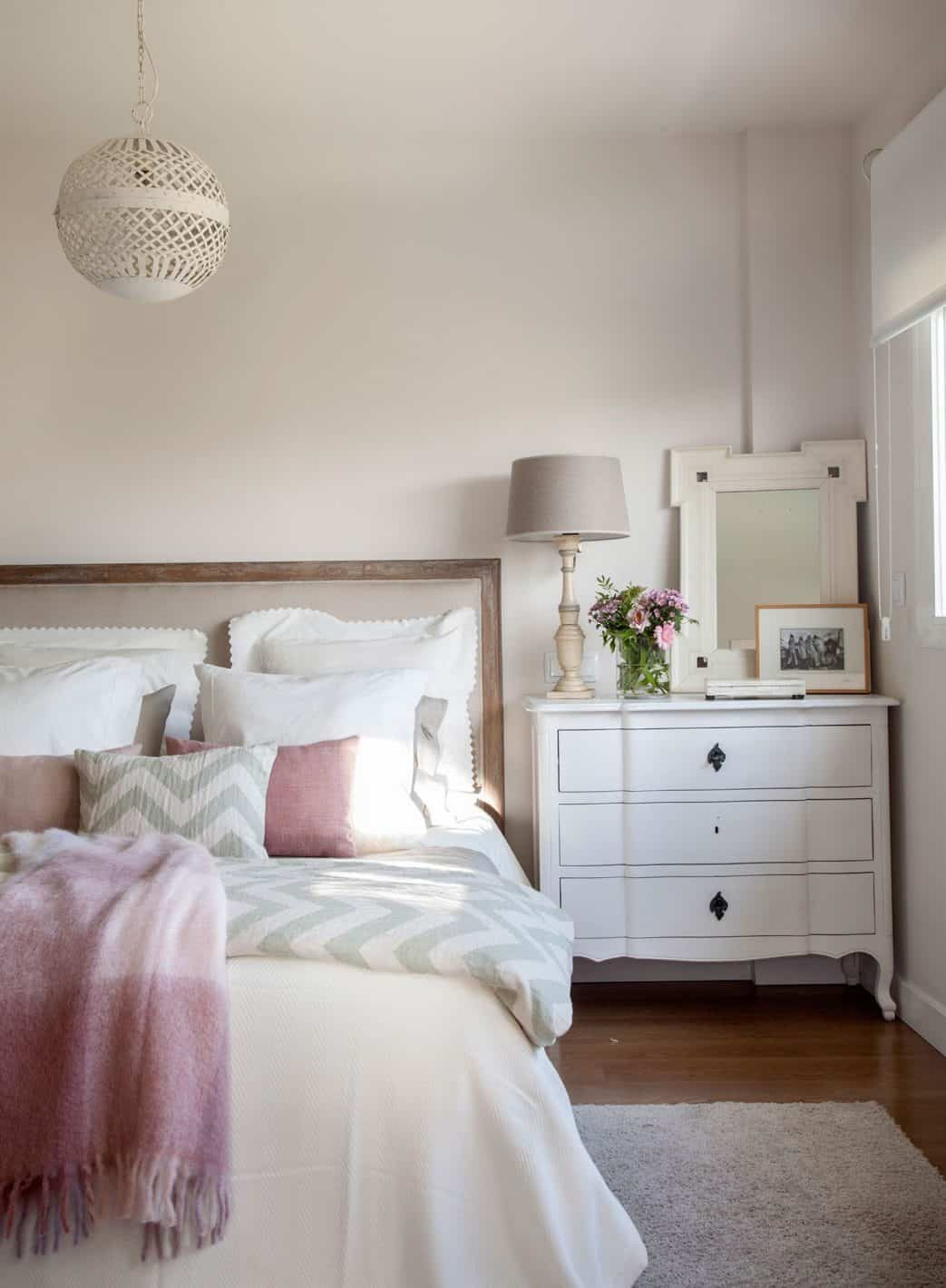 Framed upholstered headboards