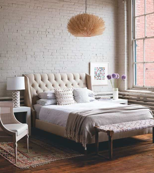 Upholstered headboards - vintage