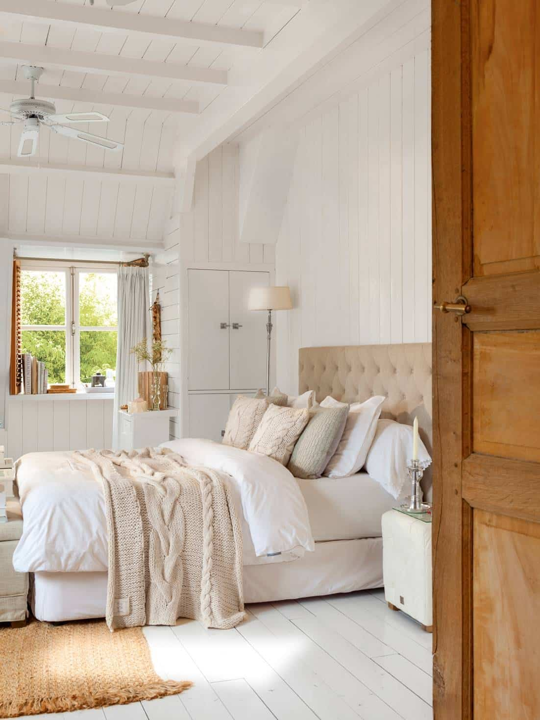 Upholstered headboards - colonial style