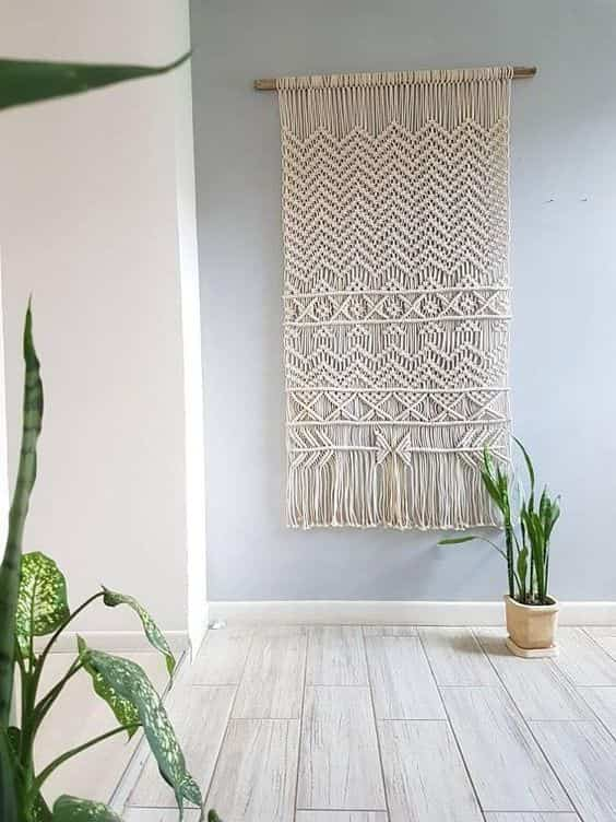 decorar paredes con macrame IX