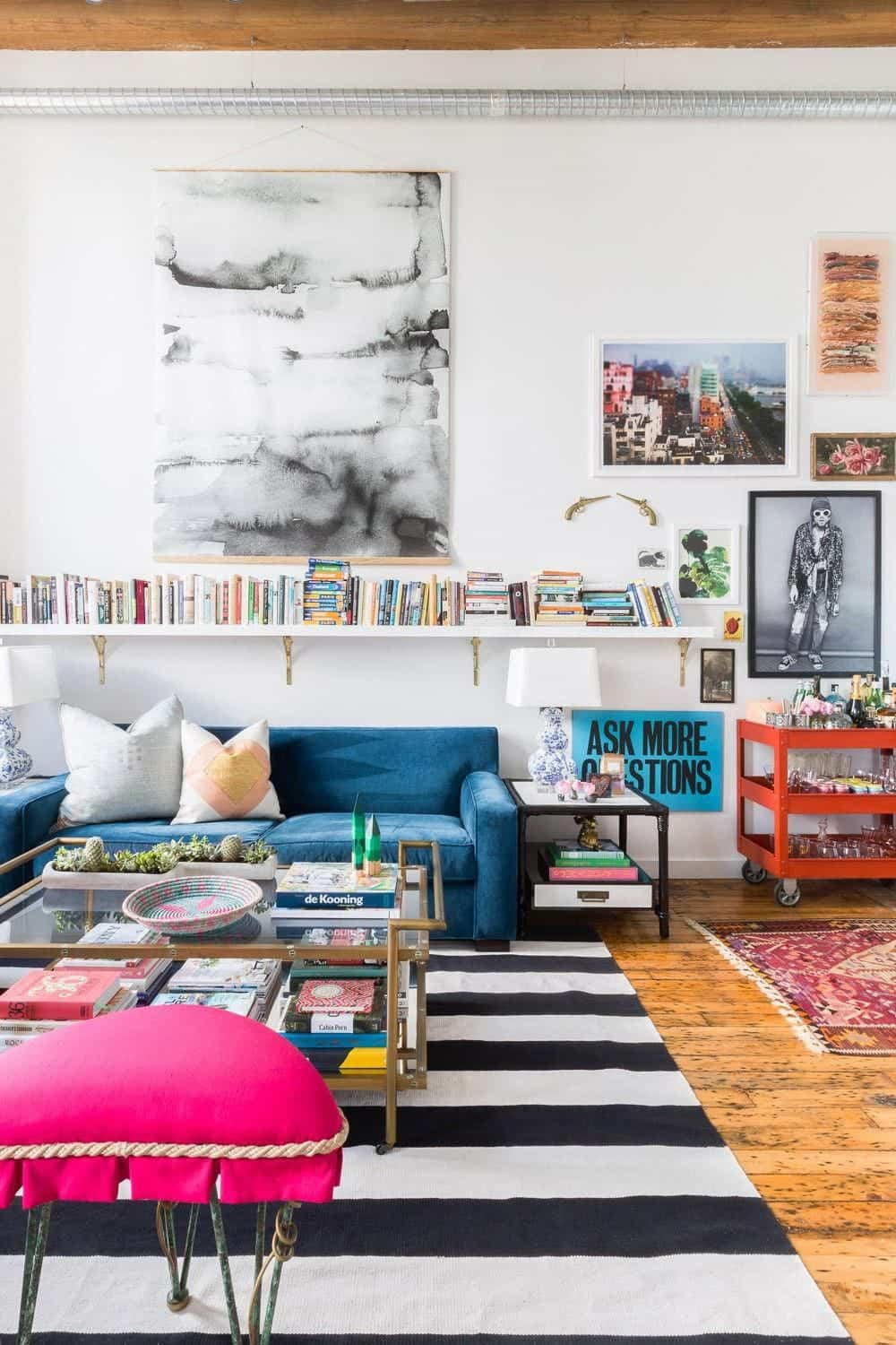 Eclectic style coffee tables