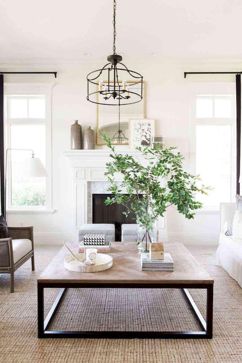 Mesas de centro - elementos decorativos