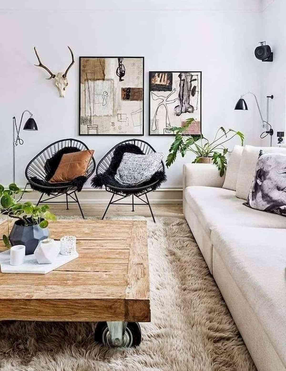 Mesas de centro de madera