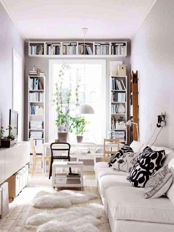 Salones pequeños- librerías