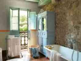 Baños rústicos - estilo provenzal