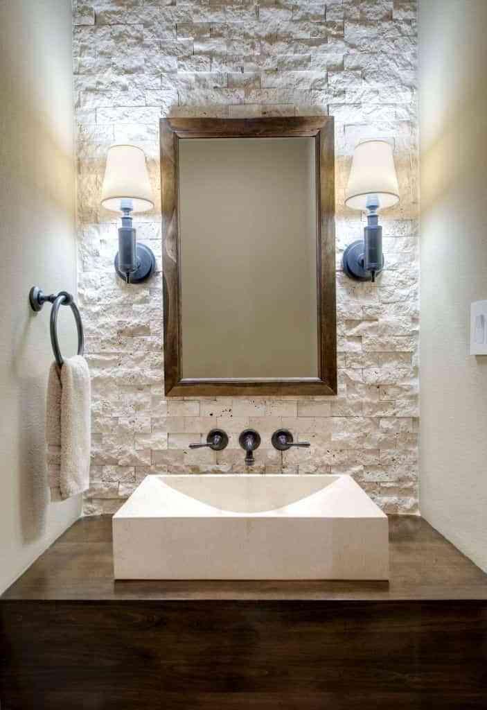 baños rústicos - revestimientos