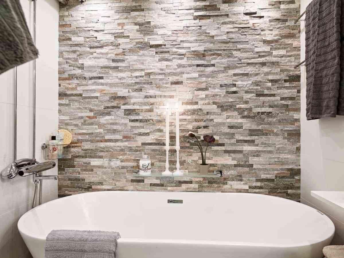 baños rústicos- velas