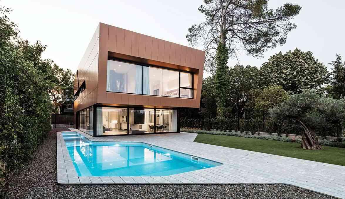 Modular modern houses
