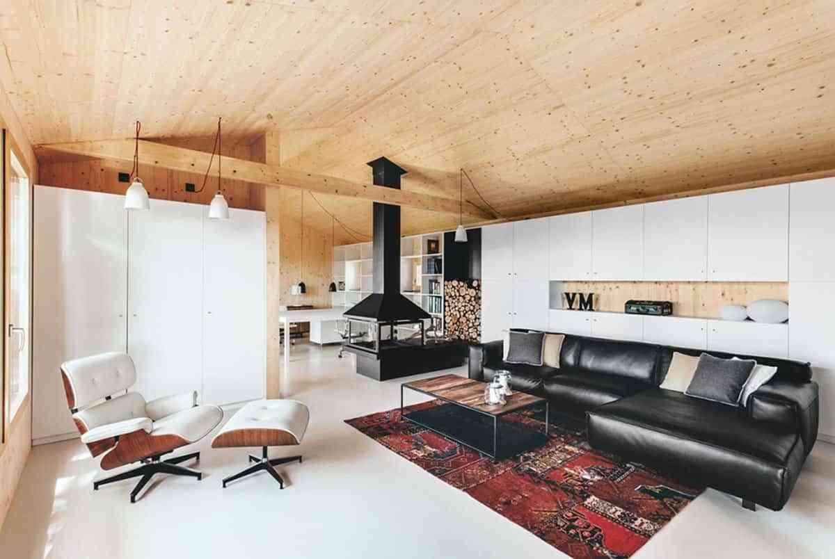 Modular houses - interior