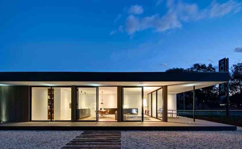 Modular houses on one floor