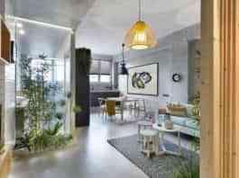 Linoleum floors in modern environments