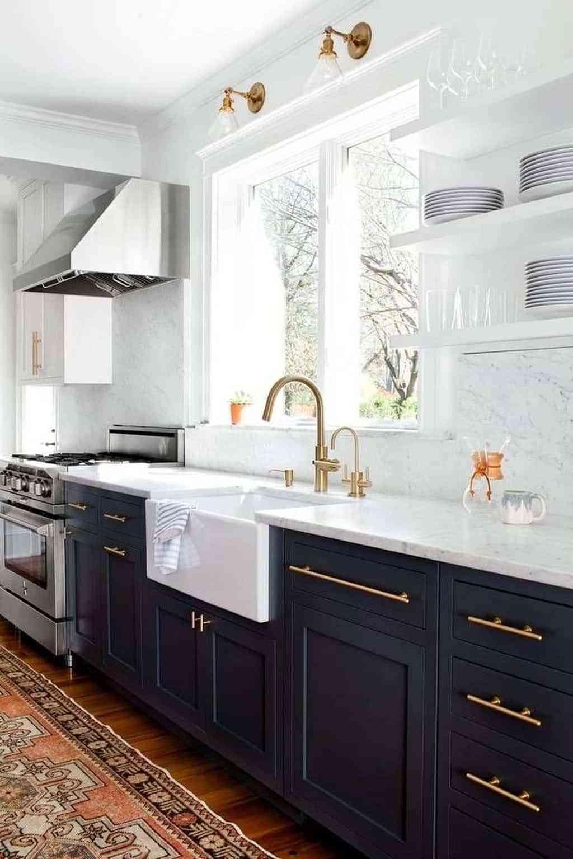 Kitchens - golden taps