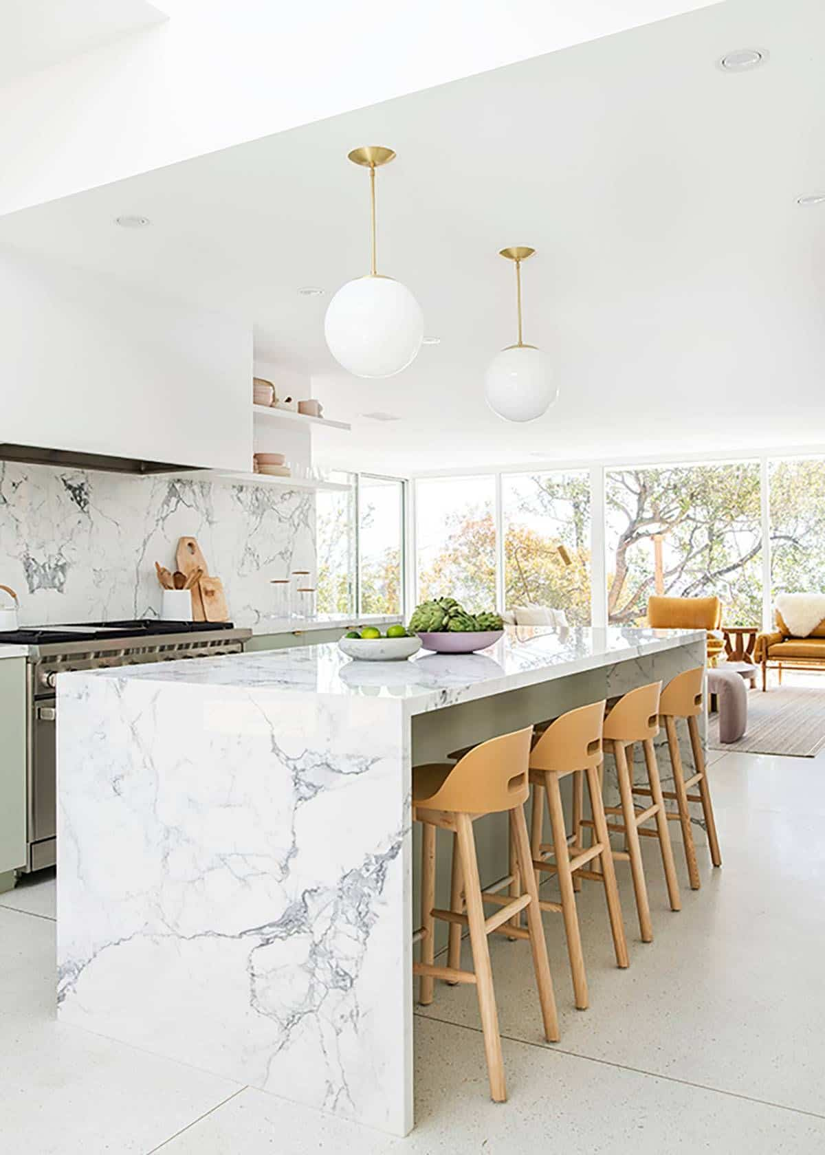 Kitchens- marble