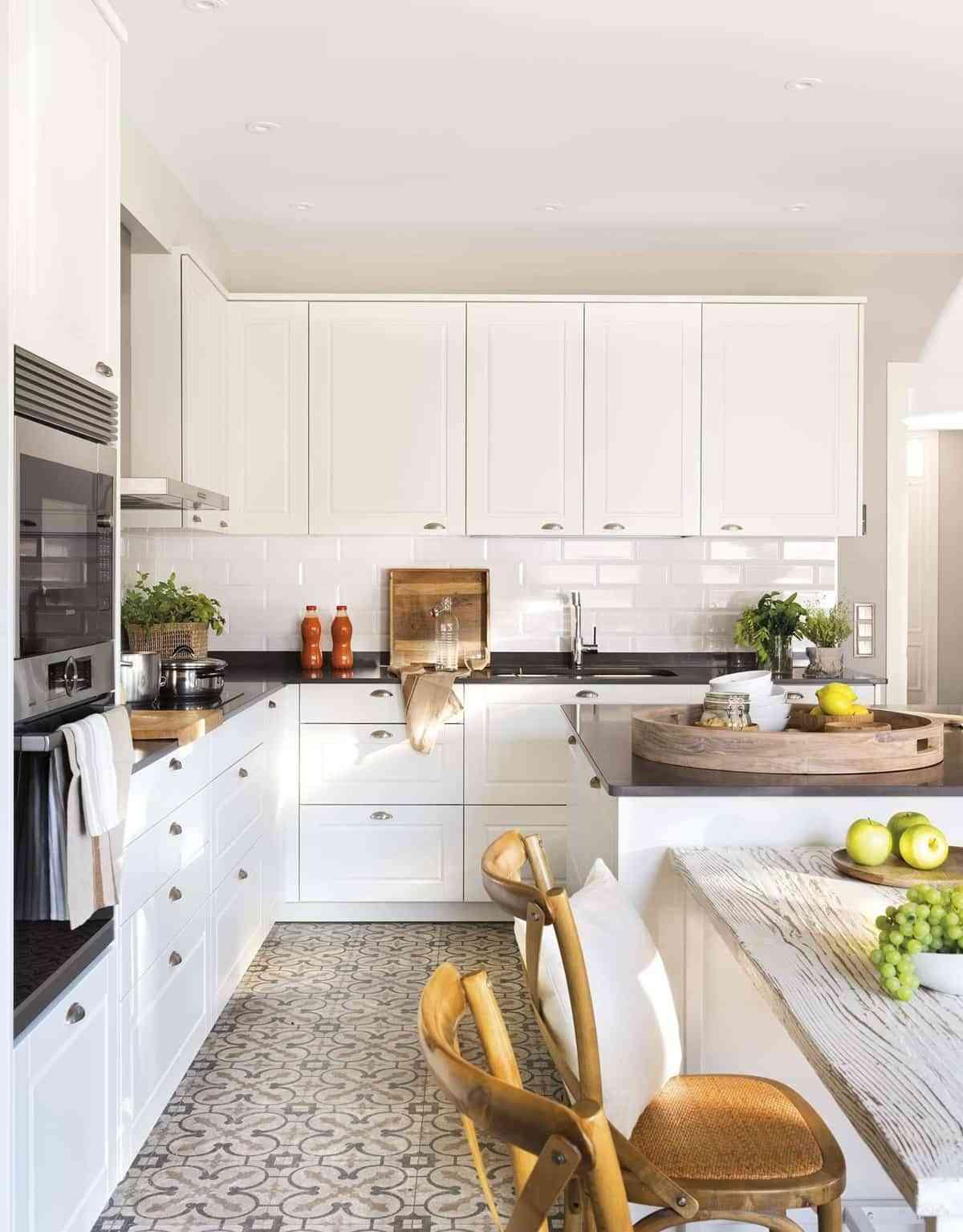 Kitchens - hydraulic mosaic