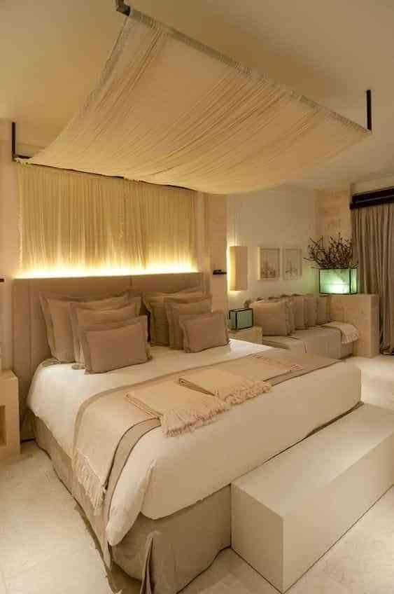 hacer una cama con dosel IX