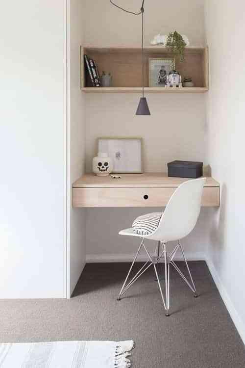 espacio de trabajo en el dormitorio II