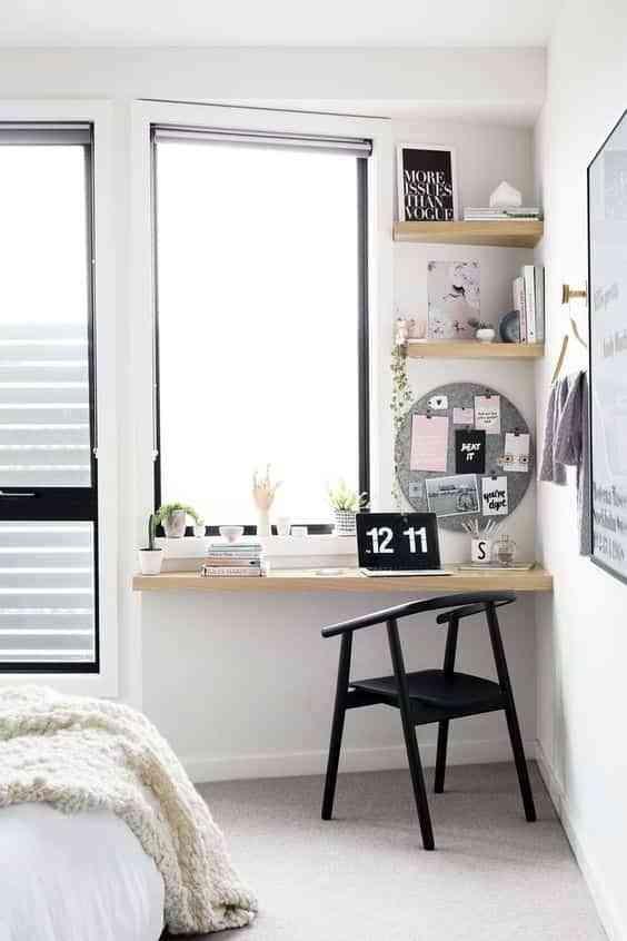 espacio de trabajo en el dormitorio III