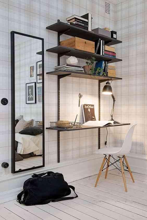 espacio de trabajo en el dormitorio IX