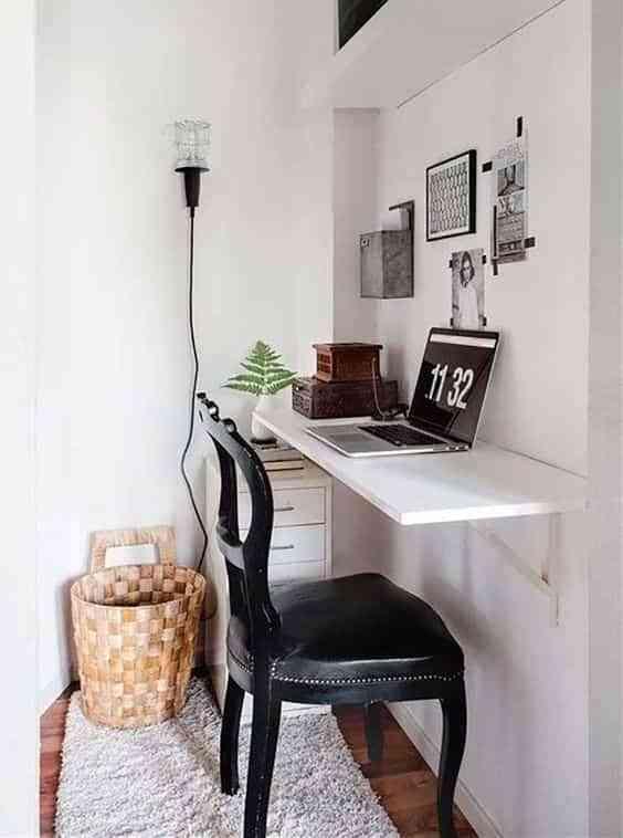 espacio de trabajo en el dormitorio VIII