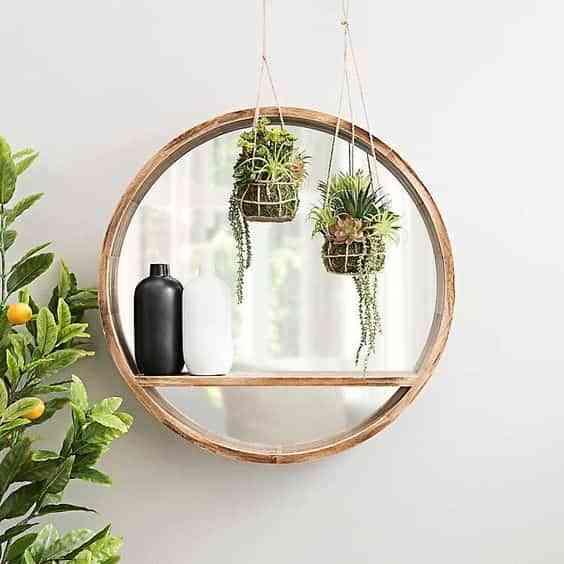 decorar con espejos redondos IV