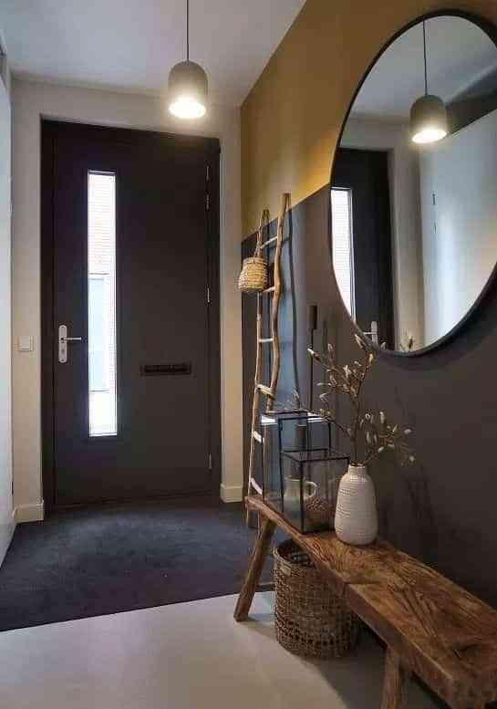 decorar con espejos redondos IX