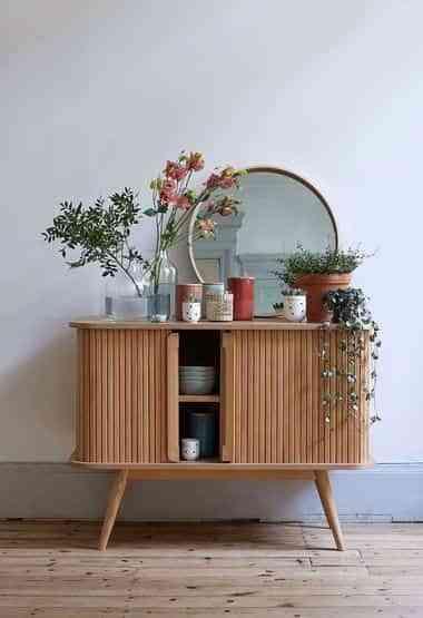 decorar con espejos redondos XI