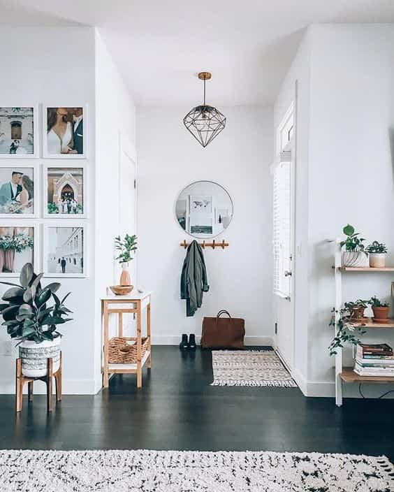 Mil y un formas de decorar con espejos redondos que te encantarán