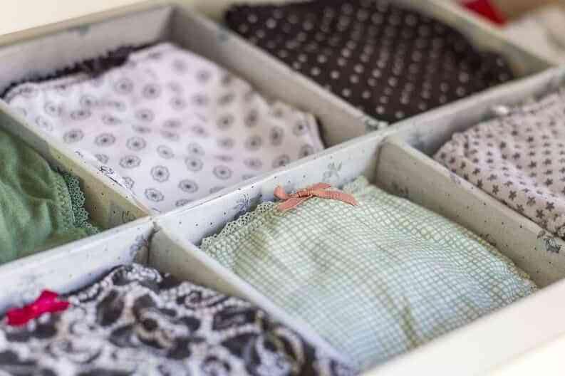 organizar la ropa interior VIII