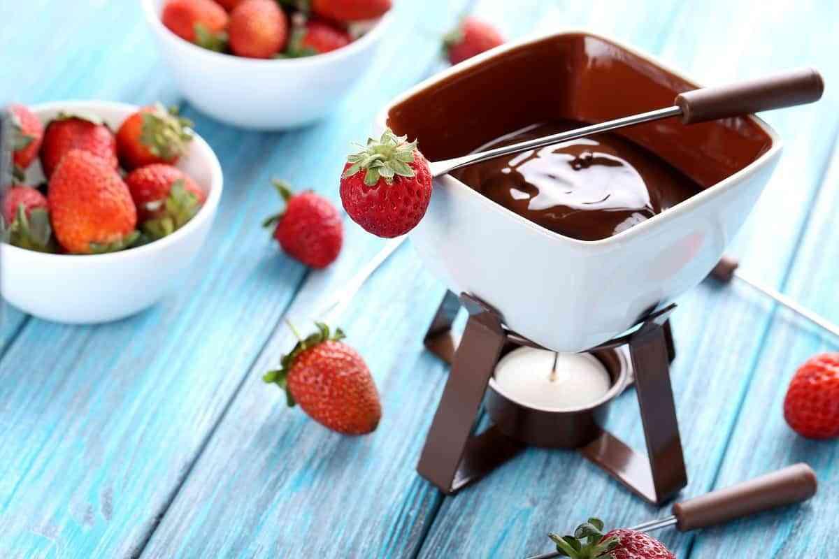 Fondue de Chocolate individual