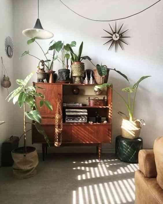 muebles antiguos en casas modernas VIII