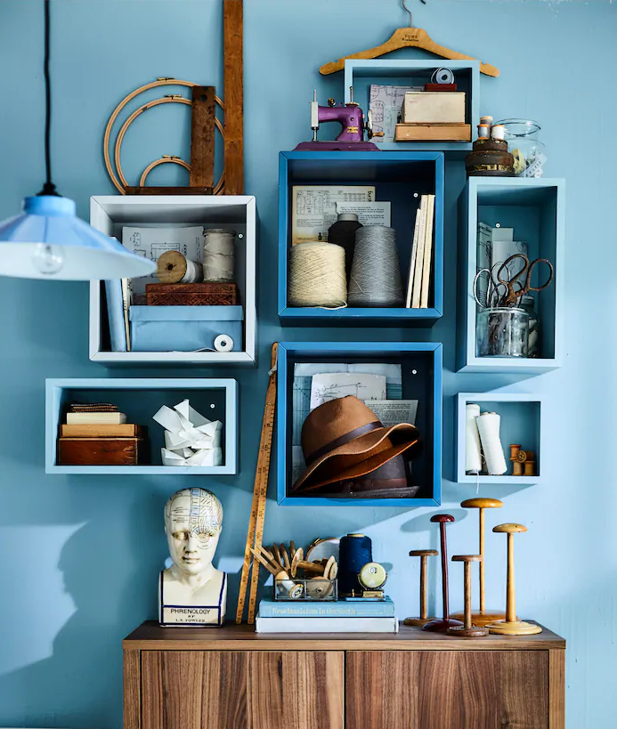 decorar tu estantería