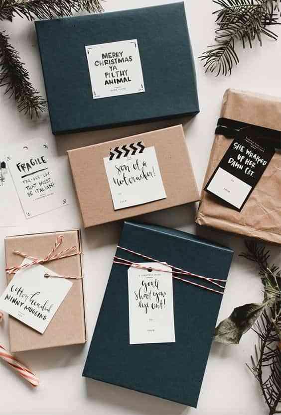 envolver regalos de forma original IX