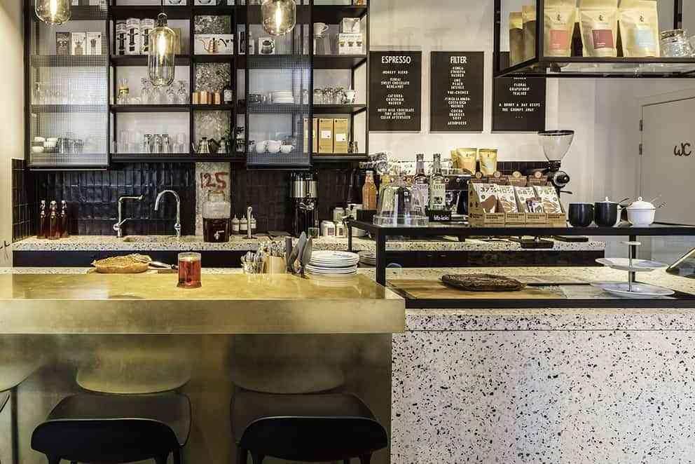 El micro-terrazo de materiales reciclados marca tendencia en las cocinas