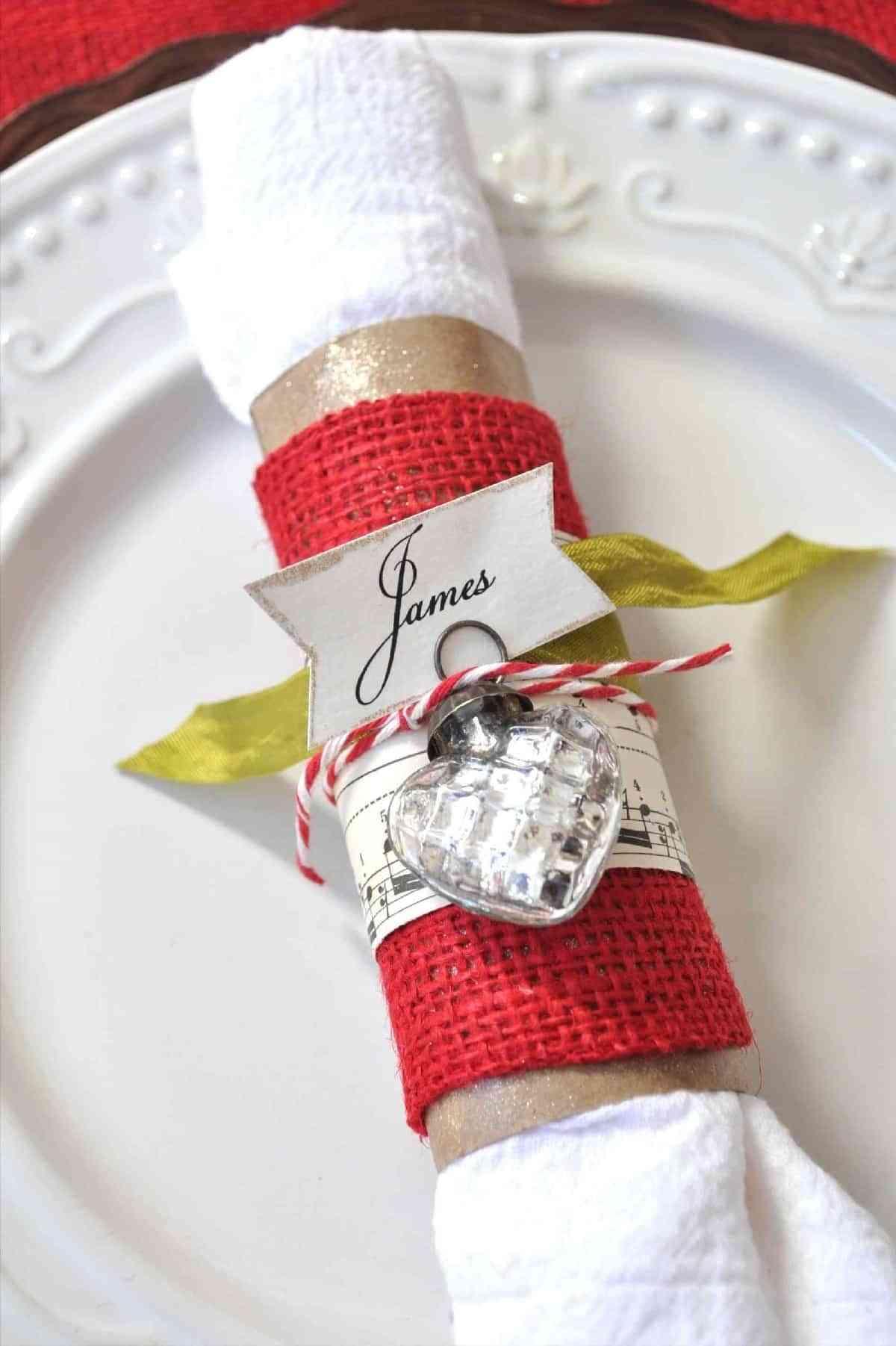 Servilleteros navideños: DIY para lucir en la mesa de Navidad