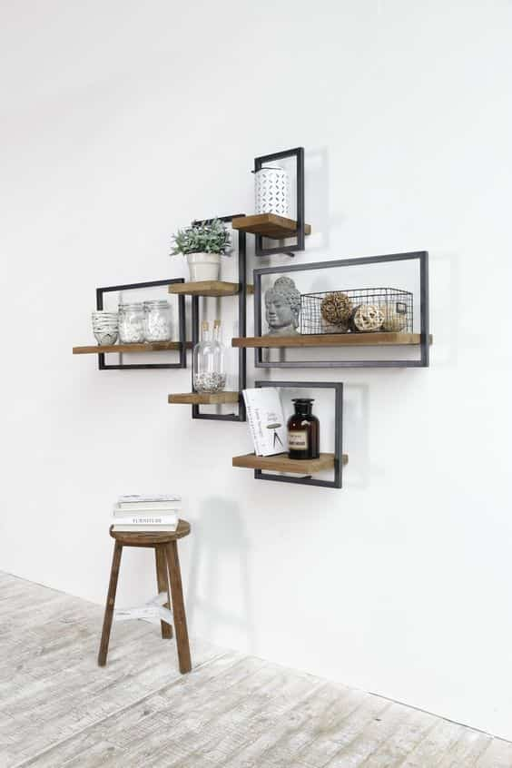 decorar con estantes de pared II