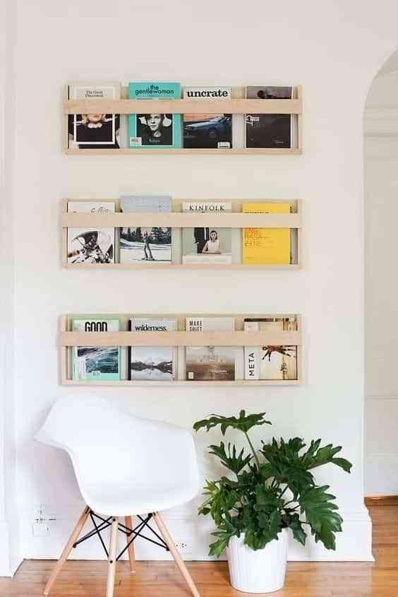 decorar con estantes de pared IV