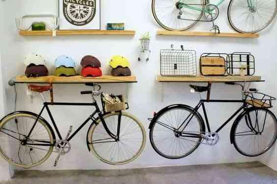 guardar la bicicleta en casa II